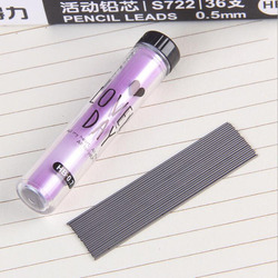 (2 Boxes = 40pcs) 0.5mm / 0.7mm HB Pencil Rod Automatic Pencil Lead Is Not Easy To Break Pencil Core Office School Supplies