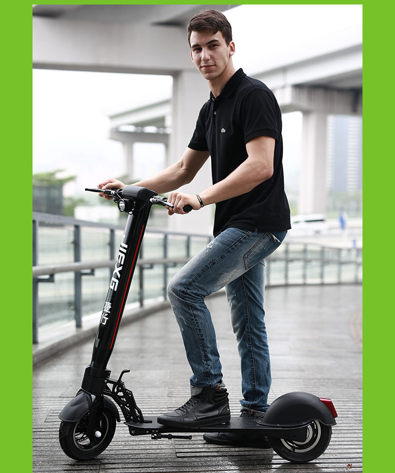 10 inch Folding Electric Bicycle for Adults Electric Scooter Foldable 500W Foldable Scooter Foldable Electric Scooter with Seat (19)