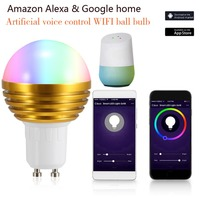 Smart WiFi Light Bulb LED Lamp 7W RGB Magic Light Bulb E27 Wake Up Lights Compatible with Alexa Google Assistant