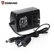 цена на ZGWANG DC 12V 2A Power Supply Adapter for CCTV Camera Waterproof Outdoor Indoor Power Adapter EU/US/UK Plug UL FCC Certification