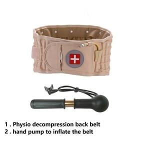 Image 5 - Lumbar Spinal air Decompression Back Belt Air Traction Waist Protect Belt Pain Lower Lumbar Support& Extender Belt Best