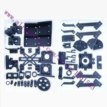 Reprap MendelMax1.5 Печатные Части Комплект 3D Принтер Mendelmax 1.5 Пластиковых Частей-Черный Бесплатная Доставка