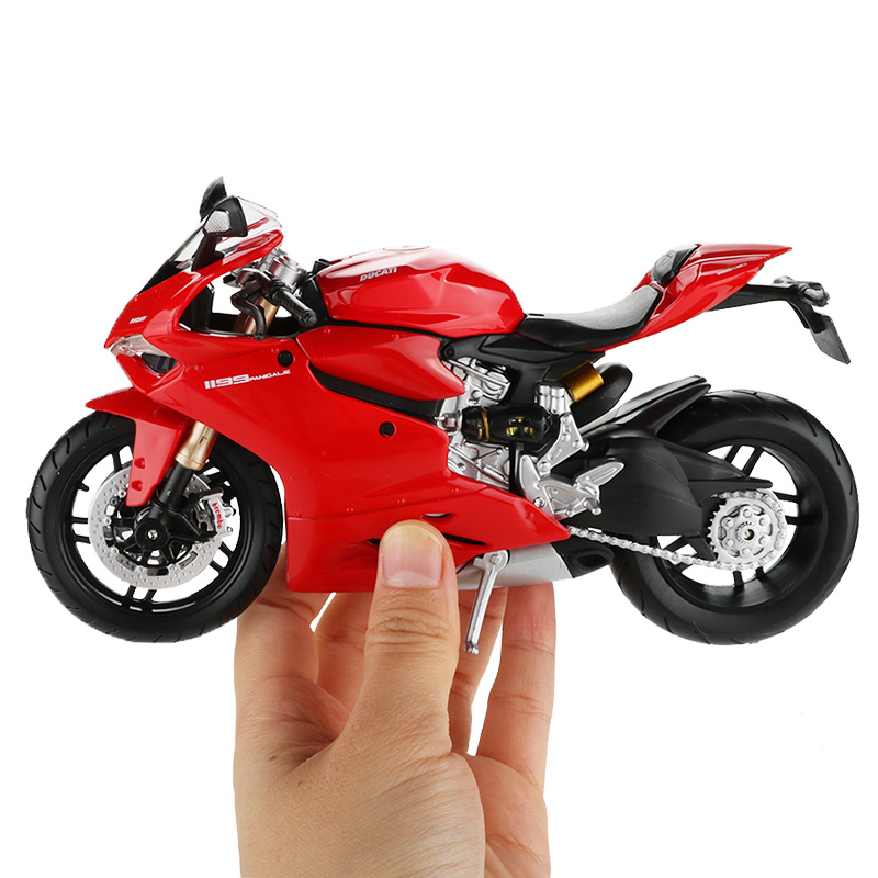 Maisto 1:12 Motor Bicycle Model Toy Alloy Motorcycle Racing Car Vehicle 1199 Motorcycles Models Off Road Cars Toys For Children