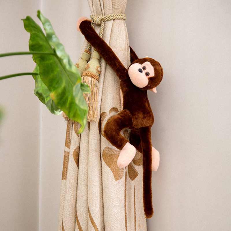 Cute Baby Kids Toddler Soft Plush Toys Long Arm Monkey Stuffed Animal Doll