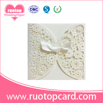 Best selling traditional white wedding invitation cards with ribbon best selling traditional white wedding invitation cards with ribbon stopboris Image collections