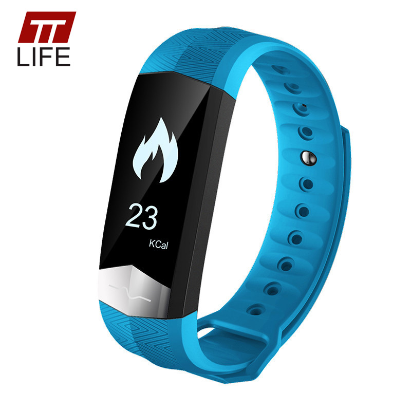 TTLIFE 2017 Heart Rate Monitor Bluetooth Relogio Masculino Smart Watch Waterproof Smart Bracelet Watches Women for Android IOS