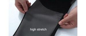 Image 5 - Lomaiyi estiramento homem calças casuais dos homens primavera/outono à prova dwaterproof água sweatpants masculino magro ajuste calças de trabalho para homens am042