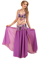 Customize Custom Sexy Egypt Belly Dance Competition High Quality Handmade Professional Performance 3PCS Belly Dance Costume