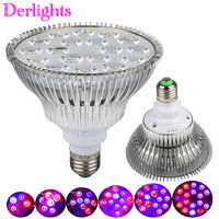 15W 21W 27W 36W 45W 54W E27 Full Spectrum Led Grow Light Hydroponics LED Plant Lamp Indoor Greenhouse LED Bulb LED Growth Lamp