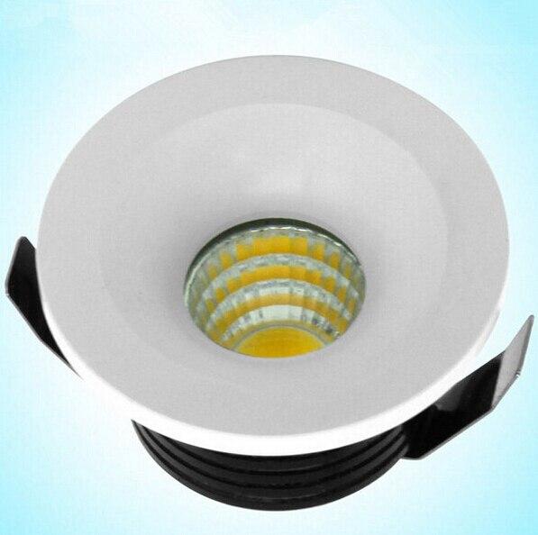 Бесплатная доставка Супер встраиваемые микро миниатюрный Малый Регулируемая Мини 5 Вт светодиодные светильники удара затемнения вниз свет...