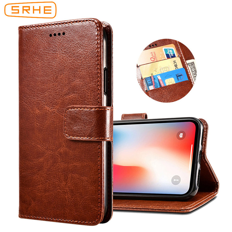 SRHE For Doogee X55 Case Cover Flip Leather Card Wallet Silicone Cover For Doogee X55 Case With Magnet Holder Price $4.99