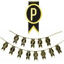 Happy Birthday Banner Kid's Birthday Party 30th Birthday 40th Birthday Sweet Sixteen кольцо orxi birthday 2010001330