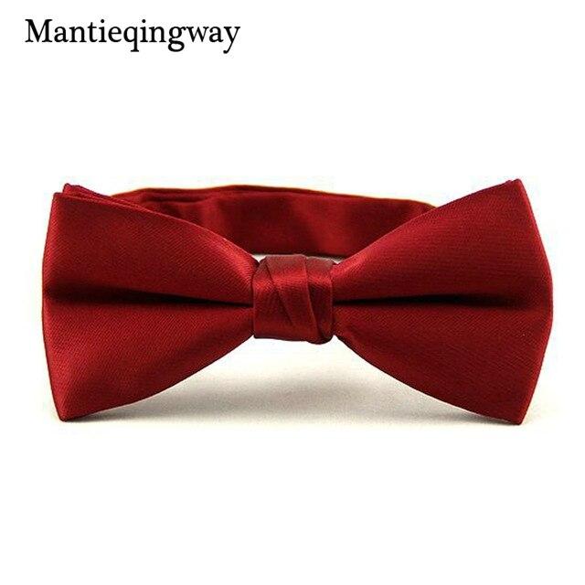 Bekleidung Zubehör Selbstlos Mantieqingway Herren Fliege Hochzeit Bowties Anzug Krawatte Bowknot Bogen Krawatten Für Männer Klassische Feste Burgund Farbe Fliege Cravats Guter Geschmack