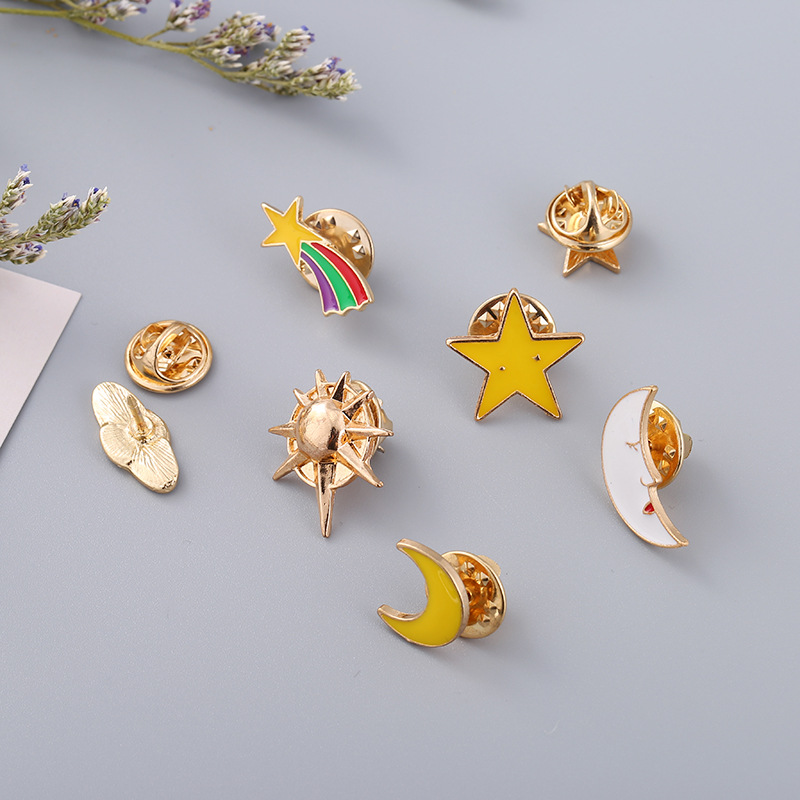Arts,crafts & Sewing Fashion Style Basketball Frame Basketball Pins And Brooches Pin Badges Hat Backpack Accessories Lovers Jewelry Gift Apparel Sewing & Fabric