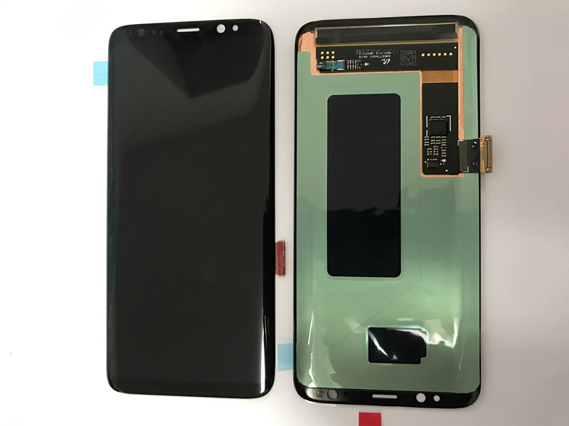 Burn Shadow LCDs For Samsung Galaxy S8 G950U Lcd Display With Touch Screen Digitizer Super AMOLED