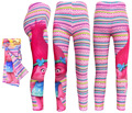 2017 New 5-10 Years Trolls Cartoon Girls Leggings Middle Children Trousers Clothing Girl Cotton Pants Kids Long RED Pants T014