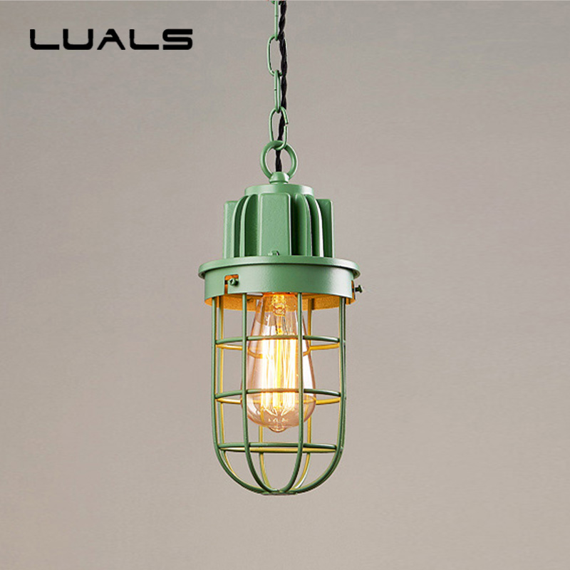 Loft Pendant Lamp Retro Lights Iron Suspension Luminaire Creative Industrial Light Fixture Edison Hanging Lamps Pending Lighting 2 pcs loft retro light rusty color hanging lamp cafe bar pendant lights creative edison lamps industrial style pendant lighting