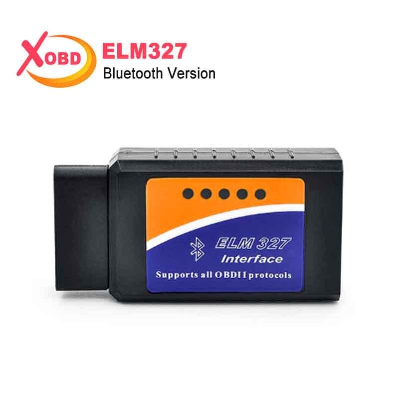 2017 Funciona Em Android Torque ELM 327 V 2.1 adaptador BT Bluetooth V2.1 Elm327 Interface OBD2/OBD II Auto Car Diagnóstico Scanner-
