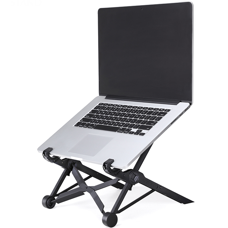 NEXSTAND K2 Portable Adjustable Laptop Lapdesk Folding Ergonomic Laptop Stand Holder Office Notebook Stand