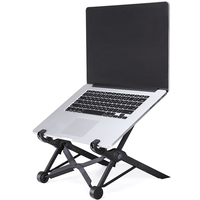 NEXSTAND K2 Portable Adjustable Laptop Lapdesk Folding Ergonomic Laptop Stand Holder Office Notebook Stand