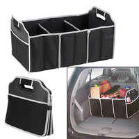 New Arrival Automotive Collapsible Folding Flat Trunk Organizer for Picnic Travel Car SUV