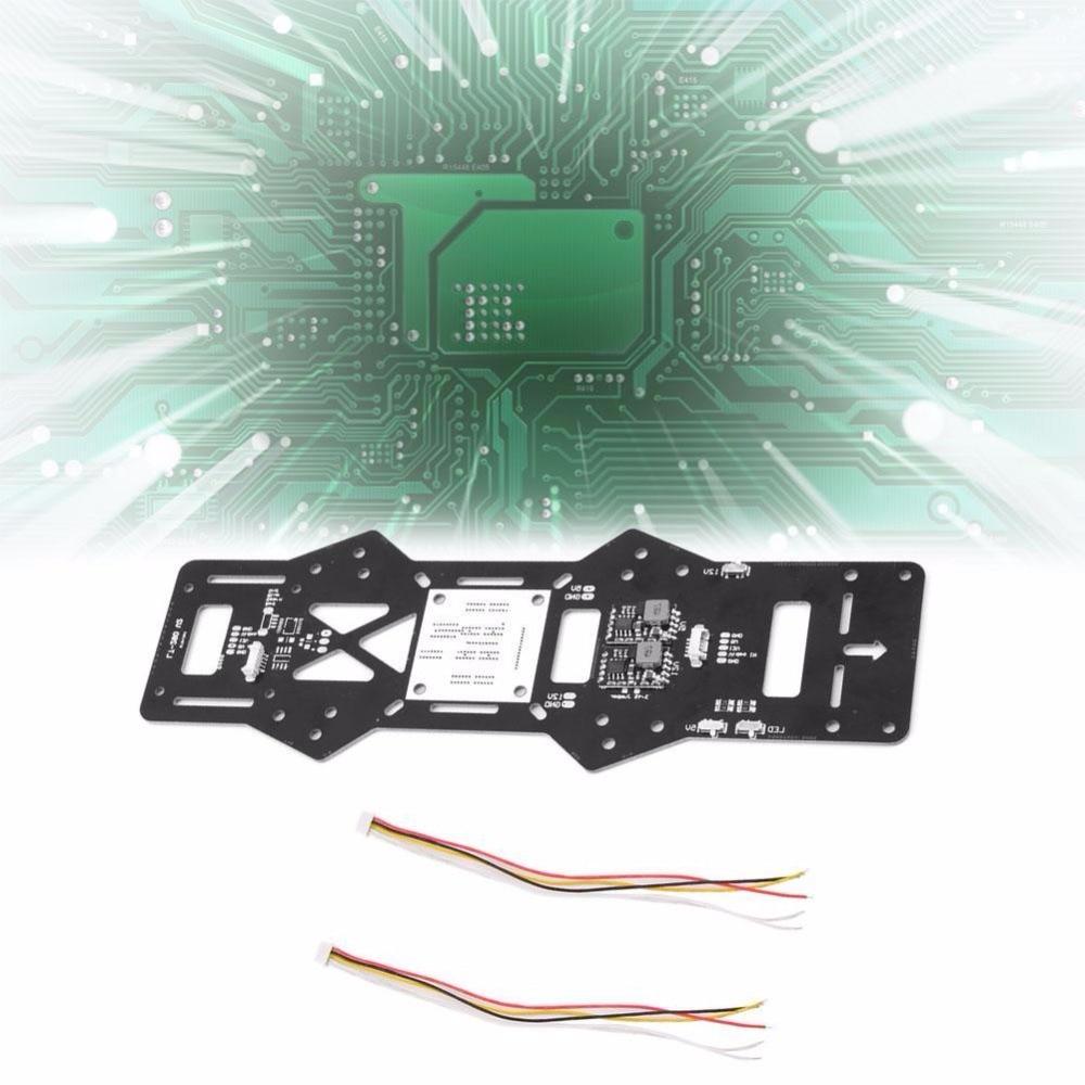 5 В/12 В integrated BEC светодиодный Мощность распределения PDB доска FPV-системы для qav280 <font><b>Drone</b></font>