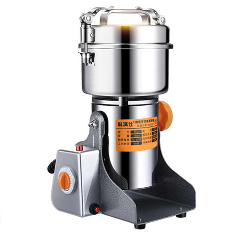 Coffee bean grinder Chinese herbal powder machine Ultra-fine grinding Household Small crusher Grains Mill electric household grinding machine grinder grinding machine coffee machine coffee grinder corn herbal medicine dry grinding