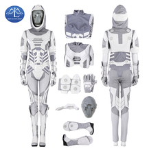 Manluyunxiao Ghost Cosplay Halloween Costumes For Women Marvel Movie AntMan and the Wasp John Morley Masquerade Outfit Customize