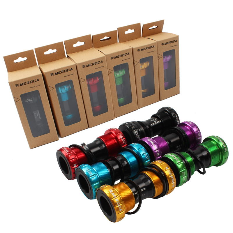 MTB Bike BB Bottom Bracket 68 73mm Thread BC1.37*24T Steel bearing|Bottom Brackets| |  - title=
