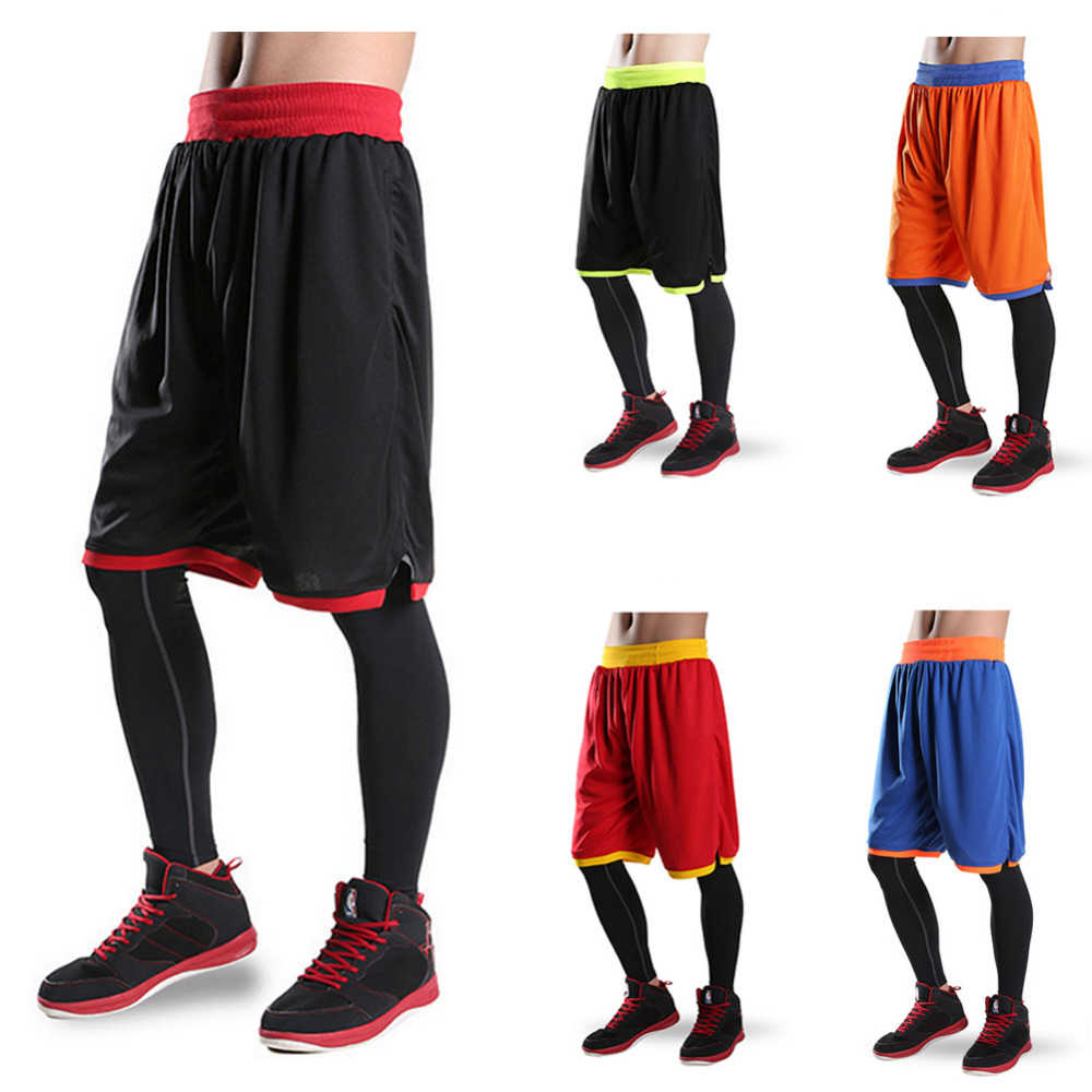 2017 new Basketball Shorts Men Running training Summer Beach Sport Gym Shorts For Men women Breathable loose