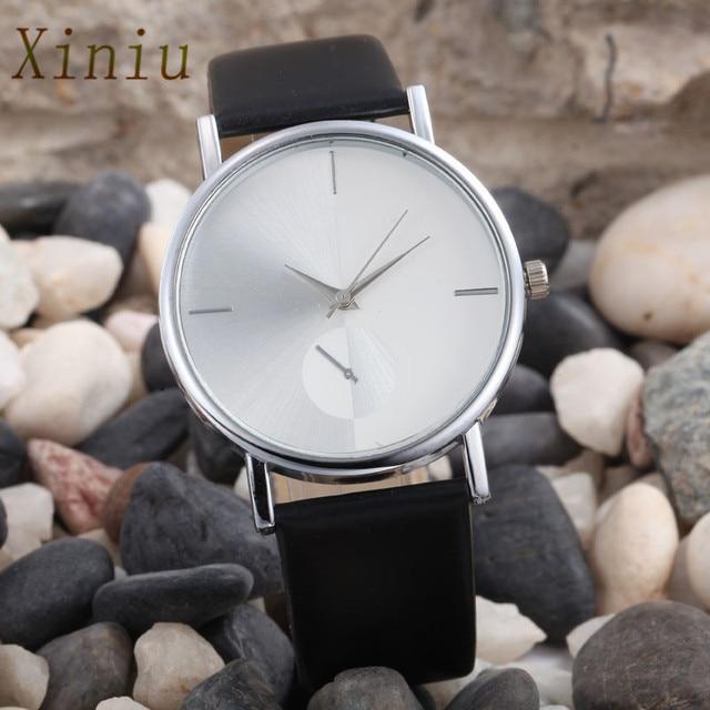 Luxury Brand Women Bracelet Watches Fashion Dial Leather Analog Quartz Wrist Wat