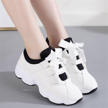 New Designer female new sneakers shoes casual fashion sneakers shoes women zapatos de mujer tenis feminino platform sneakers new designer korean white platform sneakers casual shoes women 2018 fashion summer tenis feminino woman footwear basket femme
