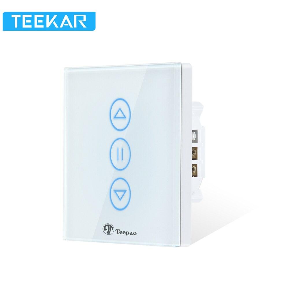 Teepao Teekar vida inteligente WiFi obturador temporizador cortinas interruptor de Control APP ciego Motor Compatible con WiFi con Amazon Alexa eco