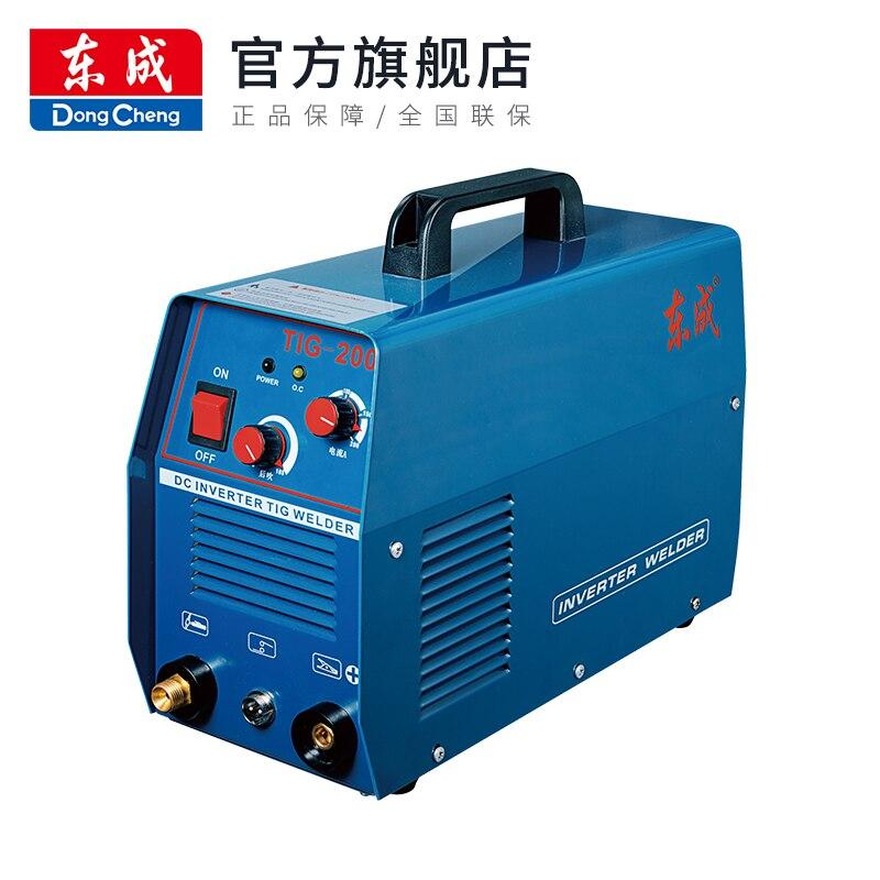 TIG welding machine TIG-200/200 dual copper welding machine 220V small household stainless steel welding machine