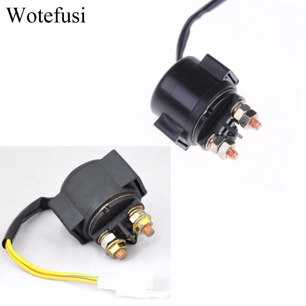 Wotefusi Starter Solenoid Relay For Motorcycle Gy6 125 Round P135 Doorphone Intercom By Ic Lm386
