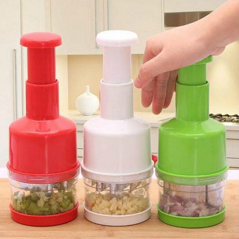 Creative Kitchen Accessories Stainless Steel Onion Slicer Multifunctional Vegetables Shredder Free Shipping