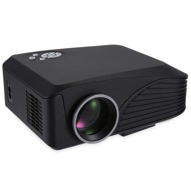 H88 с Высоким Разрешением Full HD 3D Поддерживается Protale Мультимедийный Lcd-проектор Proyector С Пультом дистанционного управления Черный Белый