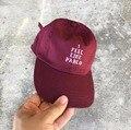 Я Чувствую, Как Пабло Red Hat 100% Аутентичные Папа медведь Бейсболка Kanye West Yeezy TLOP дрейк