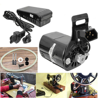 Kits Sewing Machine Motor Set Variable speed pedal Bracket Belt Electric 0.9A Accessory Replacement Replace Part