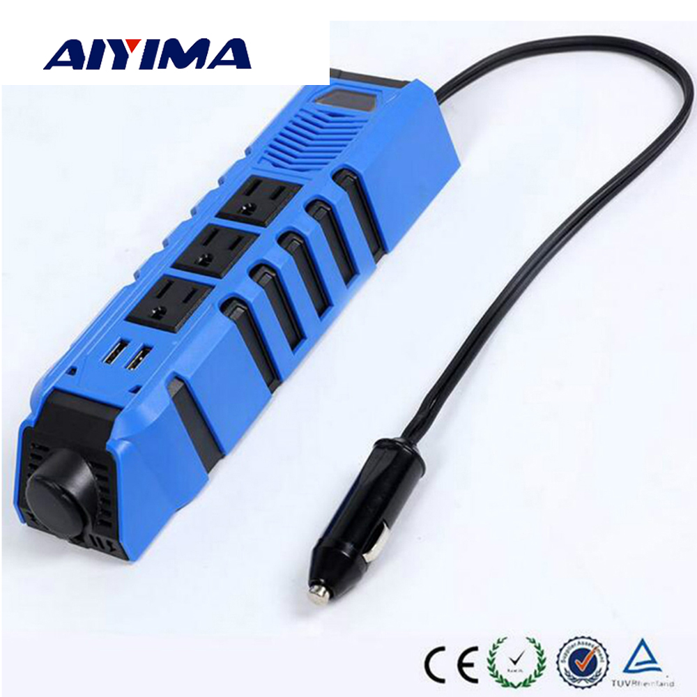 цена на Aiyima 150W Power Inverter DC 12V To AC 110V Modified Sine Wave Inverter