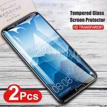 2 Pçs/lote Completo Protetor de Tela de Vidro Temperado Para Huawei Companheiro 10 10 20 Lite à prova de Explosão de Vidro para huawei Companheiro companheiro 10 pro