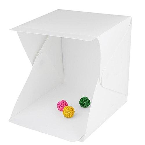 HA CONDOTTO LA Luce della Stanza Studio Fotografico Photography Illuminazione Tenda Scenografia Mini Box