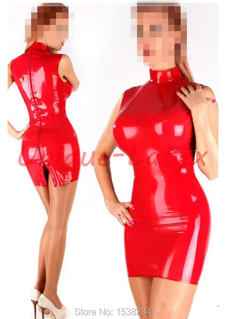 0b986f4dc0 Aliexpress.com   Buy Latex Dress Sexy Women Summer Rubber Dress Party Latex  dress from Reliable rubber dress suppliers on Unique-Latex