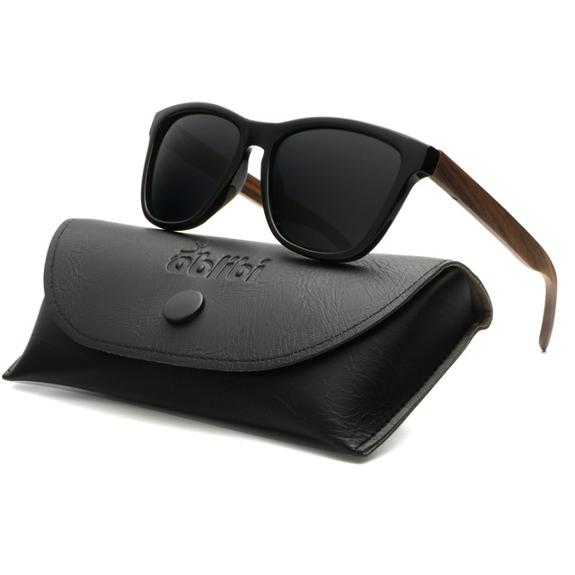 3b7aa364241 Ablibi women s sunglasses 2017 polarized men wood sunglasses men stylish  bamboo wooden shades in leather glasses
