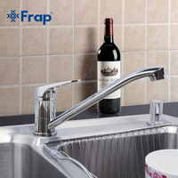Frap New Arrival Kitchen Faucet Cold And Hot Water Mixer Tap Single Handle Torneira Cozinha 360