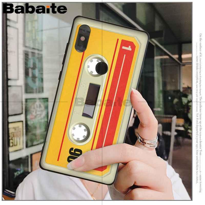 Babaite Ретро магнитную ленту калькулятор клавиатуры узор чехол для телефона для xiaomi mi 6 8 se note2 3 mi x2 redmi 5 5 plus note 4 5 5