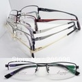 wholesales low price 11640 man pure titanium classic timeless rectangle half rim prescription eyeglass frames free shipping