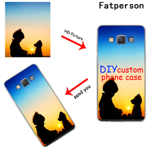 DK Custom DIY Print Photo 2019 new phone case cover hard Transparent for Samsung s8 s9plus S6 S7Edge S5 Customized Free Logo Fee
