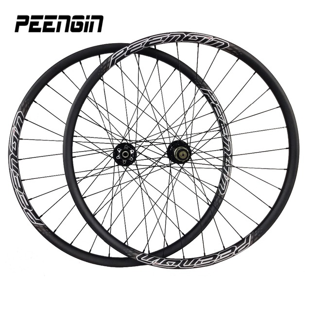 Ultra-light carbon 29 inch wheel 27mm Clincher Mountain Bike 29er Wheelset Hookless Tubeless Compatible mtb rim Cross Country XC