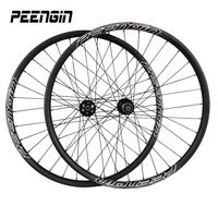 Ultra light carbon 29 inch wheel 27mm Clincher Mountain Bike 29er Wheelset Hookless Tubeless Compatible mtb rim Cross Country XC